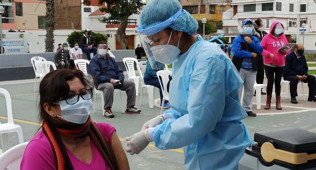 Campaña de vacunación en San Miguel.