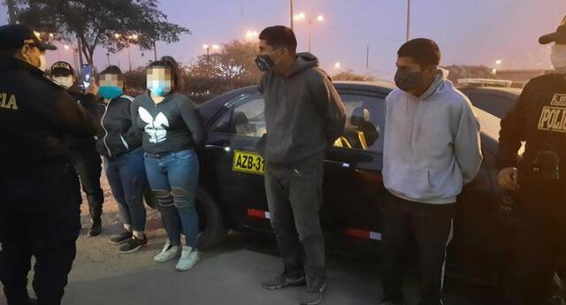 Criminales asaltaban a taxistas y transeúntes