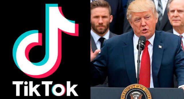TikTok le responde a Donald Trump
