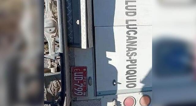Aún se desconocen la cantidad de pruebas que transportaba la ambulancia.