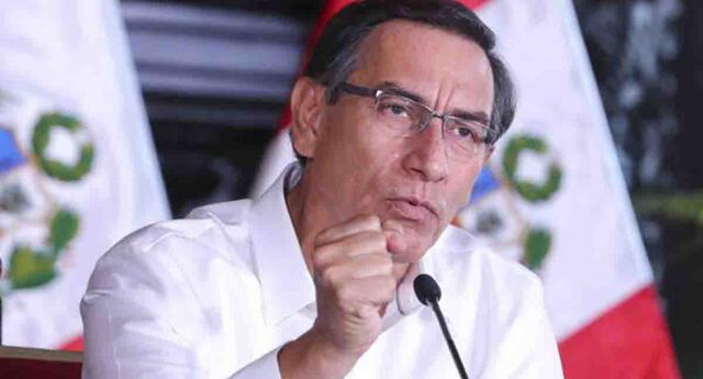 Martín Vizcarra confirmó que formará un nuevo gabinete.