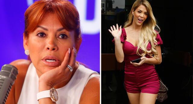 Sheyla Rojas critica a Magaly Medina.
