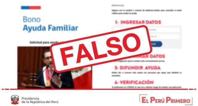 Presidencia de la República advierte que existe una plataforma falsa de estafadores que buscan robar datos personales.