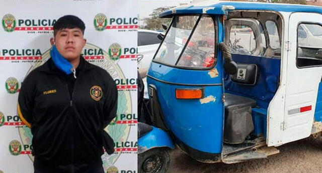Dictan prisión preventiva para el mototaxista Jair Abner Flores Gómez por crimen del ex policía Arnaldo Cruz Nole