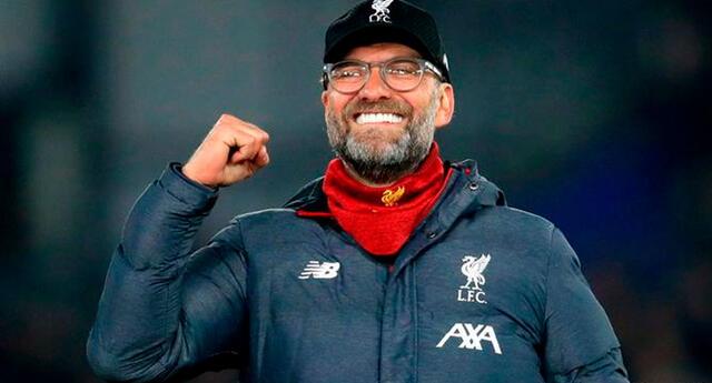 Klopp, uno de los entrenadores que se metió en la historia del Liverpool.