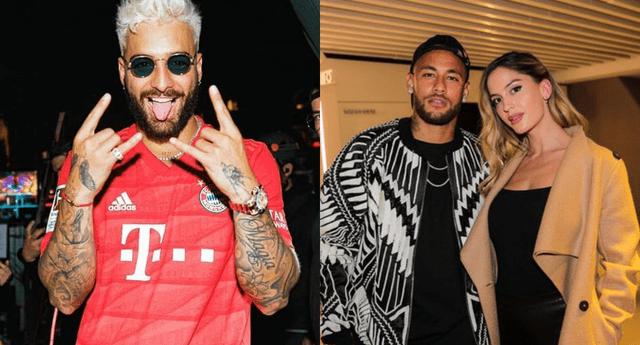 Maluma rompió su silencio tras la polémica con Neymar por su ex Natalia Barulich, y aseguró que cada quien hace con su vida lo que le de la gana.