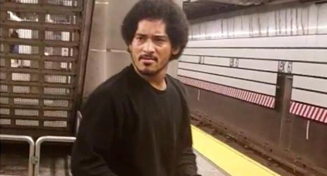 La foto del sujeto quien intentó abusar sexualmente de una mujer en estación de Nueva York.