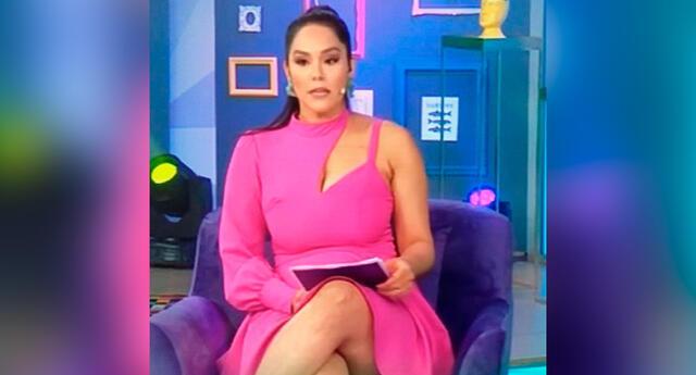 Karen Schwarz se mostró muy feliz de regresar a la pantalla chica, luego de 6 meses de estar ausente en Latina.