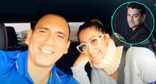 Rafael Fernández solo tuvo palabras de elogio para Christian Domínguez, y reveló que Karla Tarazona también conoce a su familia.