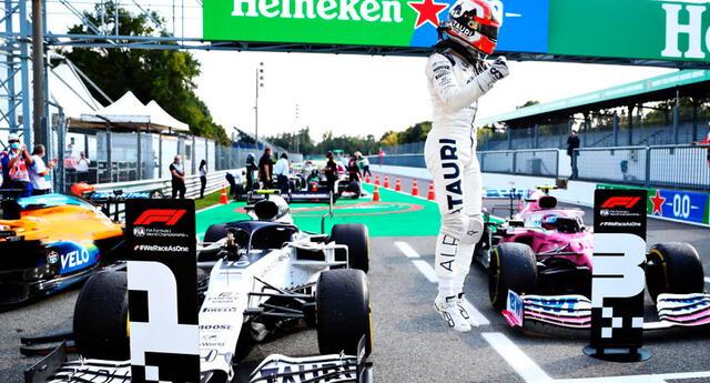 Pierre Gasly consigue su primera victoria en F1.