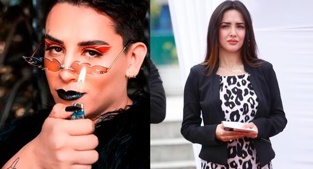 Rosángela Espinoza le respondió al tiktoker Kunno, quien se mostró incómodo por parodia que ella le hizo.