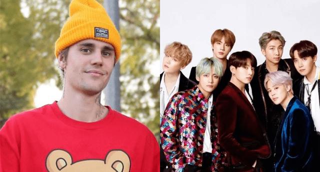 """Justin Bieber sorprendió al explicar por qué BTS había logrado tanto éxito con su single """"Dynamite"""" durante una entrevista."""