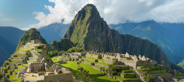 Machu Picchu es un lugar mágico y con una arquitectura impresionante.