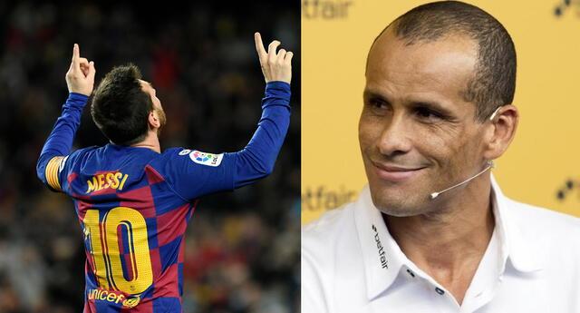Rivaldo habló sobre el futuro de Lionel Messi en el Barcelona.