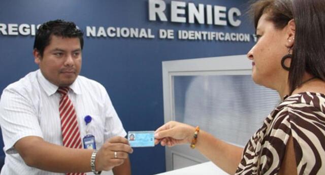 Solo con número de DNI puedes generar el trámite para el duplicado en la plataforma online del Reniec.