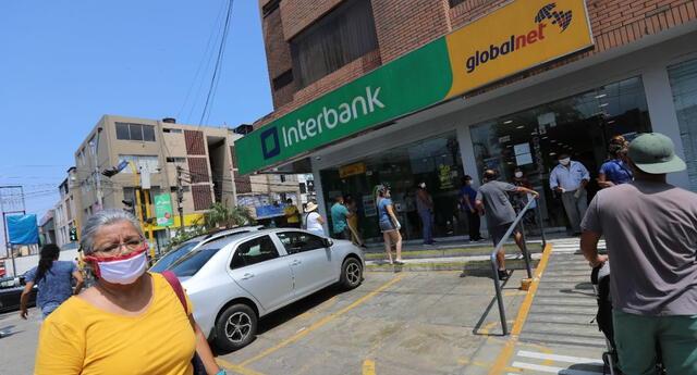 De acceder al bono Universal de 760 soles, el beneficiado sabrá si es asignado a una de las cuatro modalidades de cobro previstas para esta entrega en el banco Interbank.