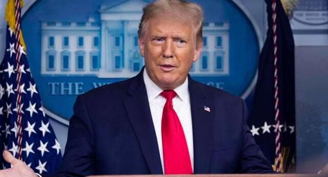 Donald Trump amenaza a Irán.