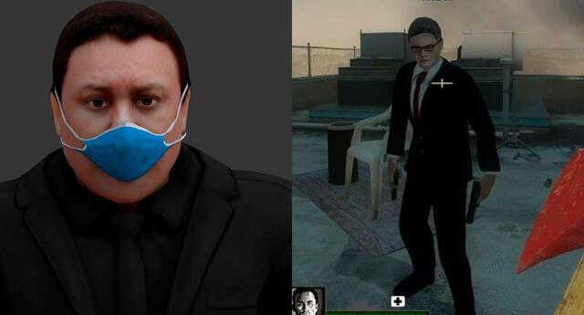 Recrean personajes políticos peruanos para Left 4 Dead y Half-Life