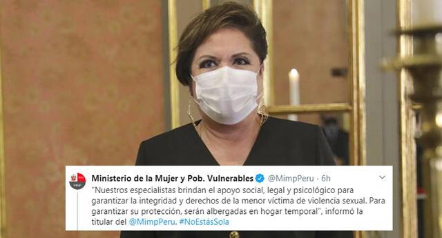 Rosario Sasieta se pronunció sobre adolescente que sufrió de agresión sexual.