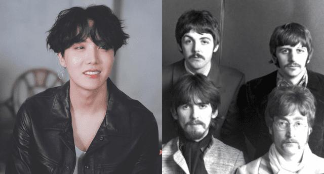 J-Hope se mostró halagado con las comparaciones que ha recibido BTS con los Beatles tras lograr un récord en Billboard siendo artistas extranjeros.