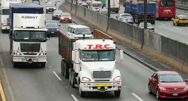 'Pico y placa' para camiones regresará el próximo miércoles 16 de septiembre.
