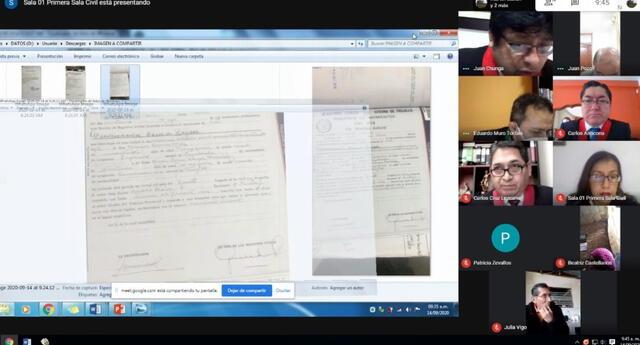Salas Civiles de La Libertad iniciaron a realizar audiencias virtuales de oralidad, c