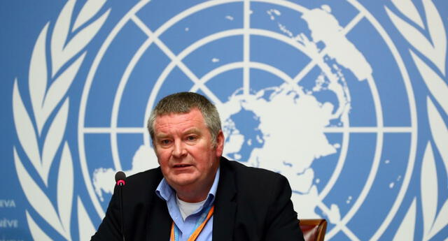 Dr. Mike Ryan, Director Ejecutivo del Programa de Emergencias Sanitarias de la OMS.