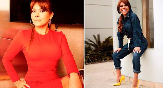Magaly Medina aseguró que recibe mensajes de apoyo de sus fanáticos y se mostró bastante feliz con la sintonía de Magaly TV: La Firme