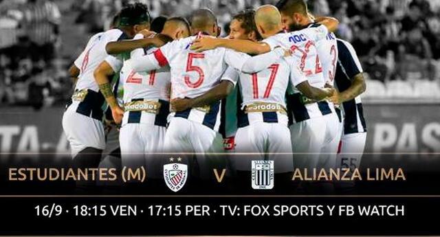 Alianza Lima va por sus primeros tres puntos en la Copa.