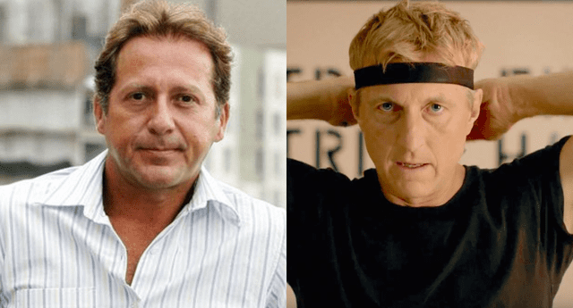 Cibernautas han señalado que el popular 'Johnny' de Cobra Kai, William Zabka, se parece al actor Paul Martin y él reaccionó con una hilarante parodia.