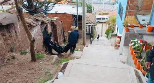 Llevan cadáver de mujer con COVID a la Morgue de Cusco.