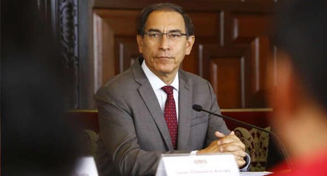 Martín Vizcarra anuncia nuevas medidas ante el coronavirus.