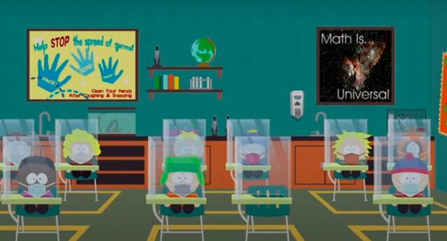 South Park estrenará un episodio que tendrá como tema el coronavirus.