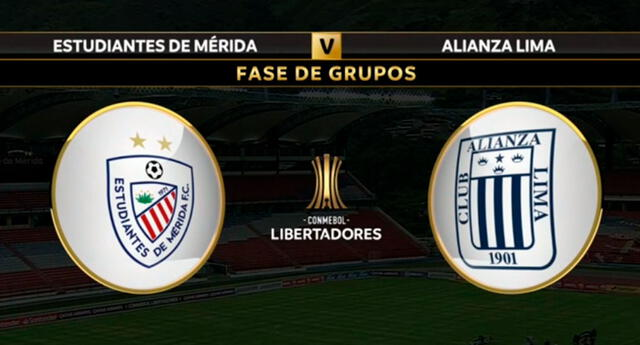 Alianza ya juega ante Estudiantes de Mérida.