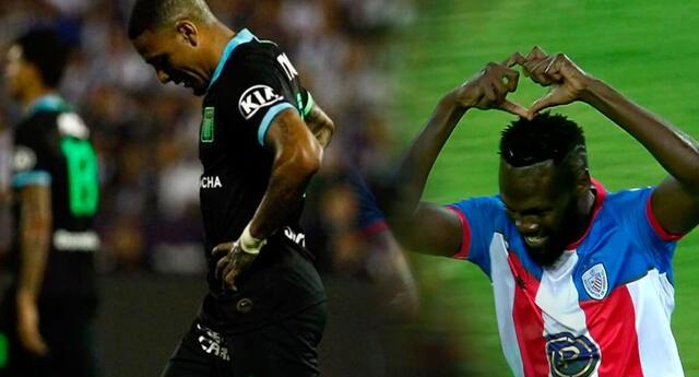 Alianza Lima y Estudiantes de Mérida se enfrentaron en fase de grupos de la Copa Libertadores.