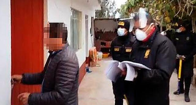 Fiscalía Anticorrupción allanó vivienda del alcalde de la provincia de Chinchero Nilo Najarro Rojas