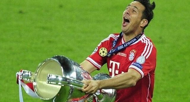 Claudio Pizarro, embajador y leyenda del Bayern Múnich.