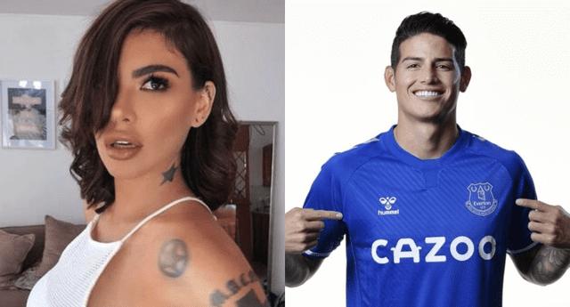 Al dar detalles de su cercanía, Angie Jibaja aseguró que el futbolista James Rodríguez siempre la trató con respeto.