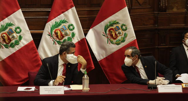 Votación de vacancia presidencial podría realizarse el lunes, según congresista Ricardo Burga.