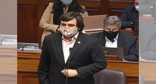 Partido Morado en contra de moción de vacancia presidencial.