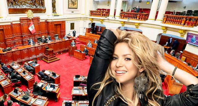 Shakira se hace tendencia en Twitter tras peculiar comentario de congresista María Bartolo.