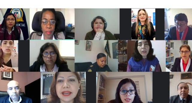 """Poder Judicial del Callao dictó charla virtual """"Llapanchikpaq Justicia 2020"""""""