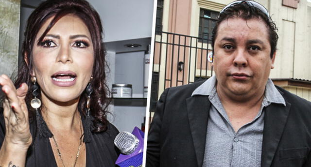Milena Zárate responde a  Richard Swing  y le pide pruebas.