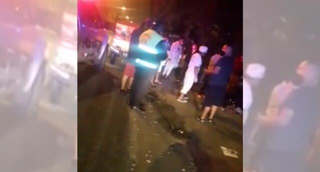 Hombre fue baleado en Ate Vitarte.