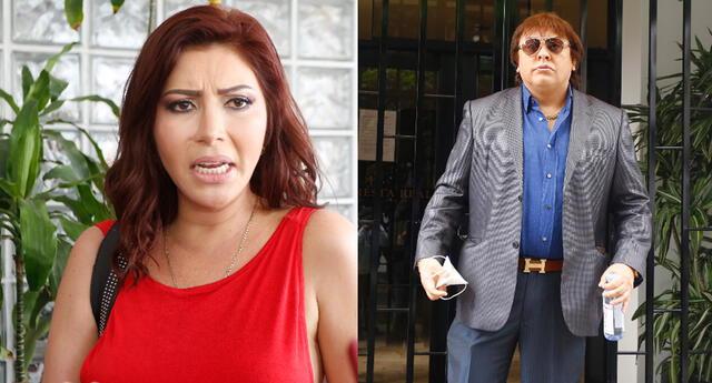 El cantautor Richard Swing realizó una conferencia de prensa en las afueras de su casa y también habló de los temas en su contra de Milena Zárate y Lourdes Sacín.