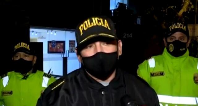 PNP interviene fiesta clandestina en el Cercado de Lima.