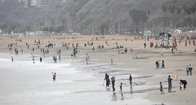 Aforo en las playas de Lima será solo del 50 % por pandemia del coronavirus.