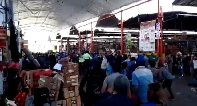 Batalla campal en Mercado de Furtas.