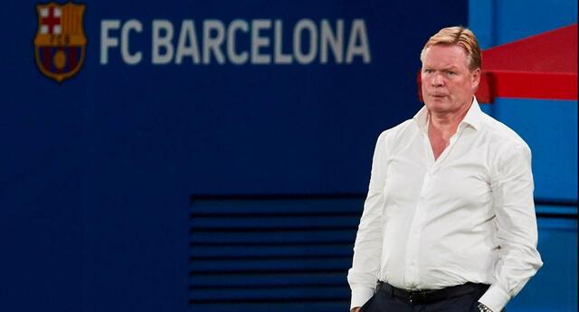 Ronald Koeman llegó al Barcelona y sacó titulares.