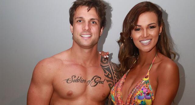 Nicola Porcella aseguró que no tiene contacto con Angie Arizaga tras su ruptura, pero le desea lo mejor del mundo.